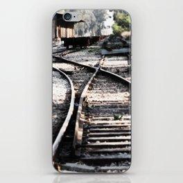 Abandoned Rail Tracks iPhone Skin