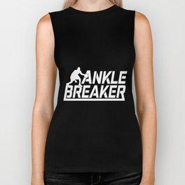 ankle breaker player basketball Biker Tank