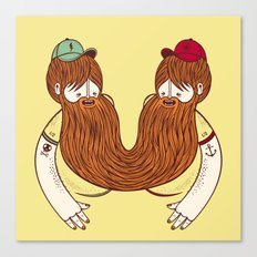 Siamese Twins V.2 Canvas Print