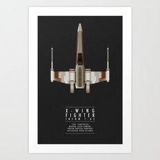 X-Wing Art Print
