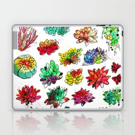 Watercolor Succulents Laptop & iPad Skin