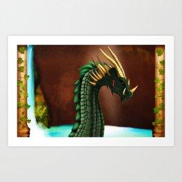 Dragon Ishmmadür  Art Print