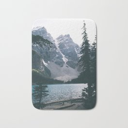 Moraine Lake Bath Mat