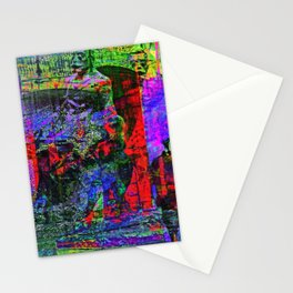 populated by lofty aspirations so they are legions Stationery Cards