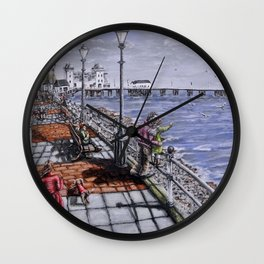 Penarth Seafront Wall Clock
