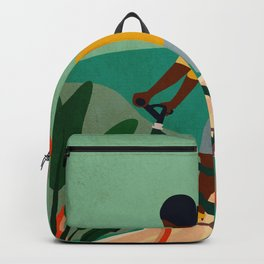 Stay Home No. 7 Backpack