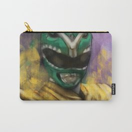 Green Mighty Morphin Power Ranger Carry-All Pouch