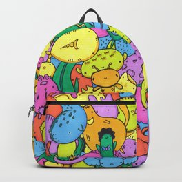 Animal Creatures Pattern Backpack