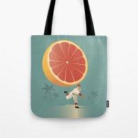 league Tote Bags featuring Grapefruit League by John W. Tomac