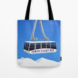 Squaw Valley Ski Resort ,LakeTahoe , California Tote Bag