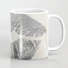 Hollywood Kiss Silver Coffee Mug