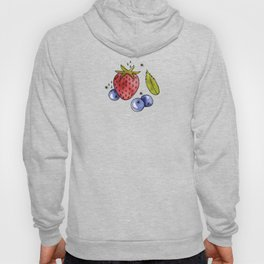 Strawberry, Blueberry, Mint Hoody