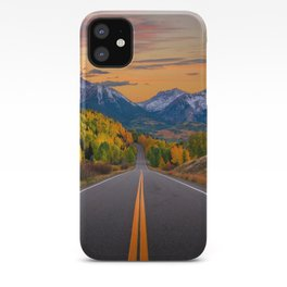 The Road To Telluride iPhone Case