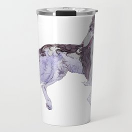 The Silken Windhound and Some Pillows Travel Mug