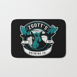 Zgott's Brewing Co. Bath Mat
