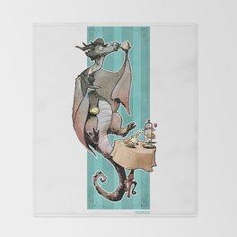 Sir Earl Grey Throw Blanket