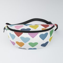 Hearts Heart Teacher Fanny Pack
