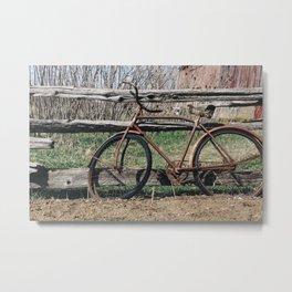 Bicycle Relics  Metal Print