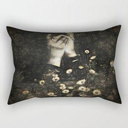 Lotus Feet Rectangular Pillow