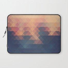 Retro Spatial Geometric Pattern Laptop Sleeve