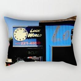 O O'CLock World Rectangular Pillow