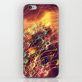Butterfly Lights iPhone Skin