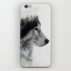 Wolf Stare iPhone Skin