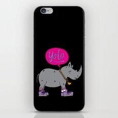 Yolo Rhino iPhone Skin