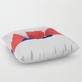 Geometric ABC Floor Pillow