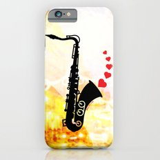 Sax and Love Slim Case iPhone 6s
