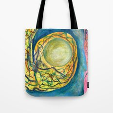 Lost Fire Opal Tote Bag