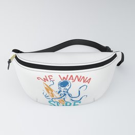 We wanna Surf Fanny Pack