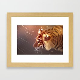 1.61 beats per second Framed Art Print