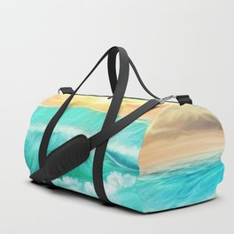 Light in a storm Duffle Bag