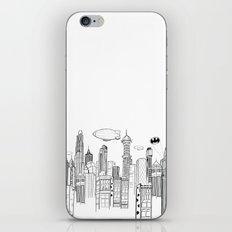 Gotham City Skyline iPhone Skin