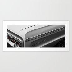 white impala Art Print