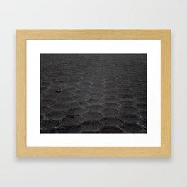 Where the Sidewalk Begins Un-edited Version Framed Art Print