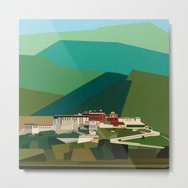 Potala Palace, Lhasa, Tibet, China Metal Print