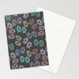 Paw Prints 01 Stationery Cards
