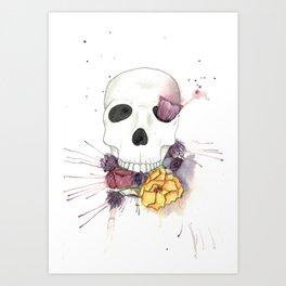 Choke Art Print