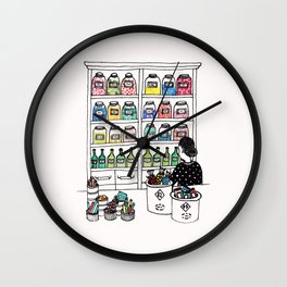 The Candy Shop Wall Clock