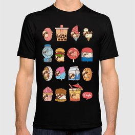 Puglie Food Collection 3 T-shirt