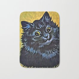 Louis Wain's Cats - Black Cat Bath Mat