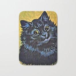 Louis Wain's Cats - Black Cat Bath Mat
