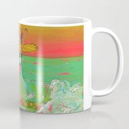 Hang 10 Lady Slider Surfer Girl Coffee Mug