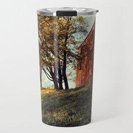 Grobina - ruins Travel Mug