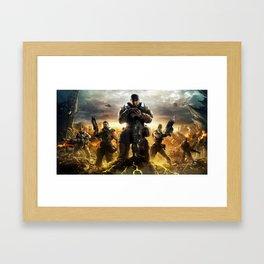 Gears Of War 04 Framed Art Print