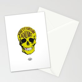 Fortune Favours The Brave. Stationery Cards