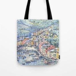 Portofino dal mare Tote Bag