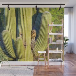 Wild and Wide Eyed Wall Mural